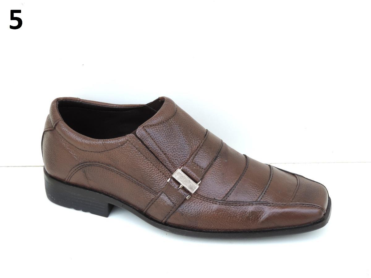 4cd70fbaf promoçao 1 par de sapato masculino couro bico quadrado. Carregando zoom.