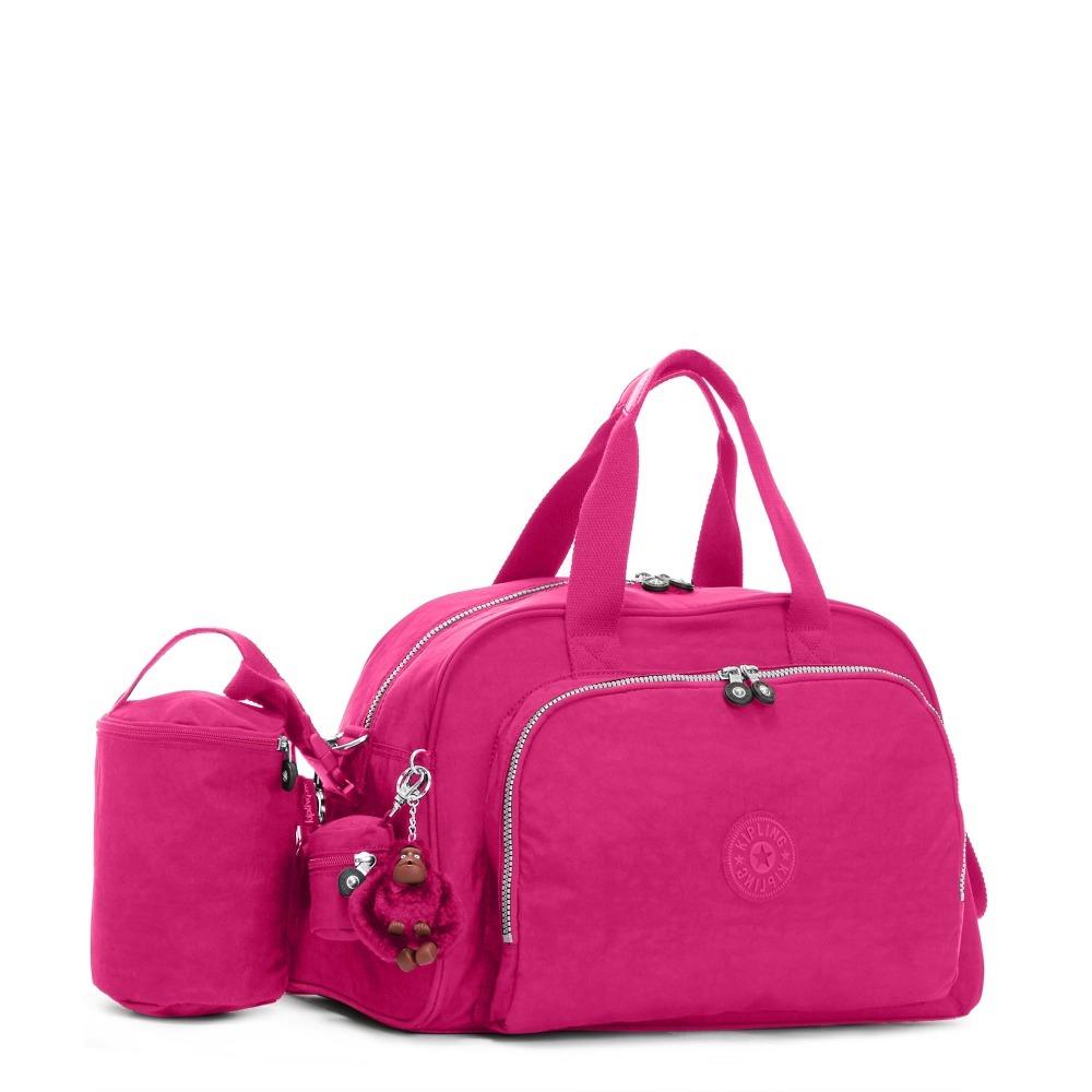 79338948e promocao! bolsa maternidade kipling camama original rosa. Carregando zoom.