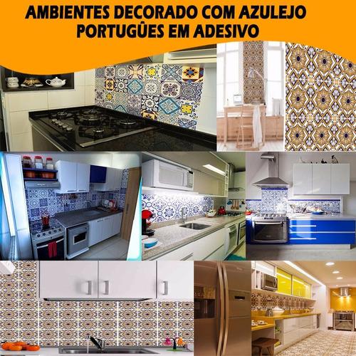promoçao limitada adesivo azulejo português 15cm x 15cm