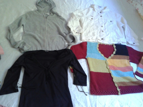 promoçao lote 18 roupas de frio feminino tm m frete gratis
