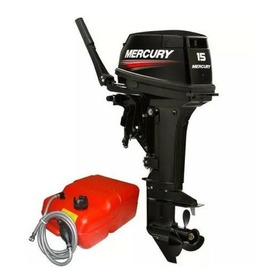 Promoção Motor De Popa 15 Hp Mercury Super