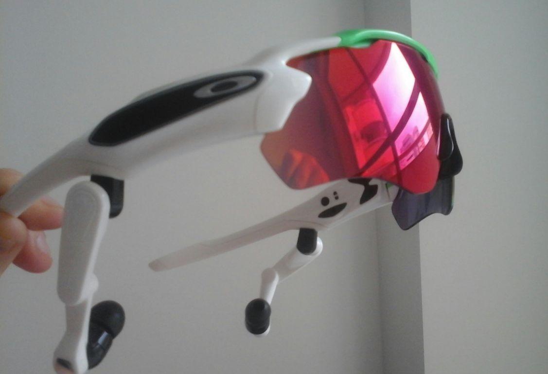 promocao oculos intel oakley radar pace bluetooth green fade. Carregando  zoom. d0835b807f