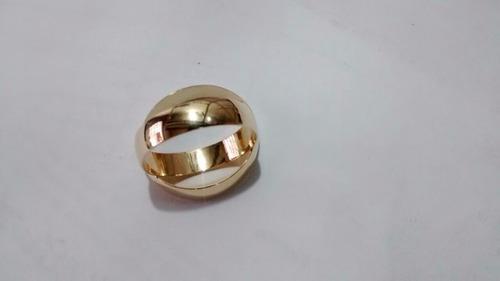 promocao par de aliancas ouro 18k shai 4mm anatômicas