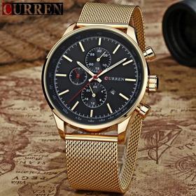 Promoção Relógio Masculino Curren Luxo Original