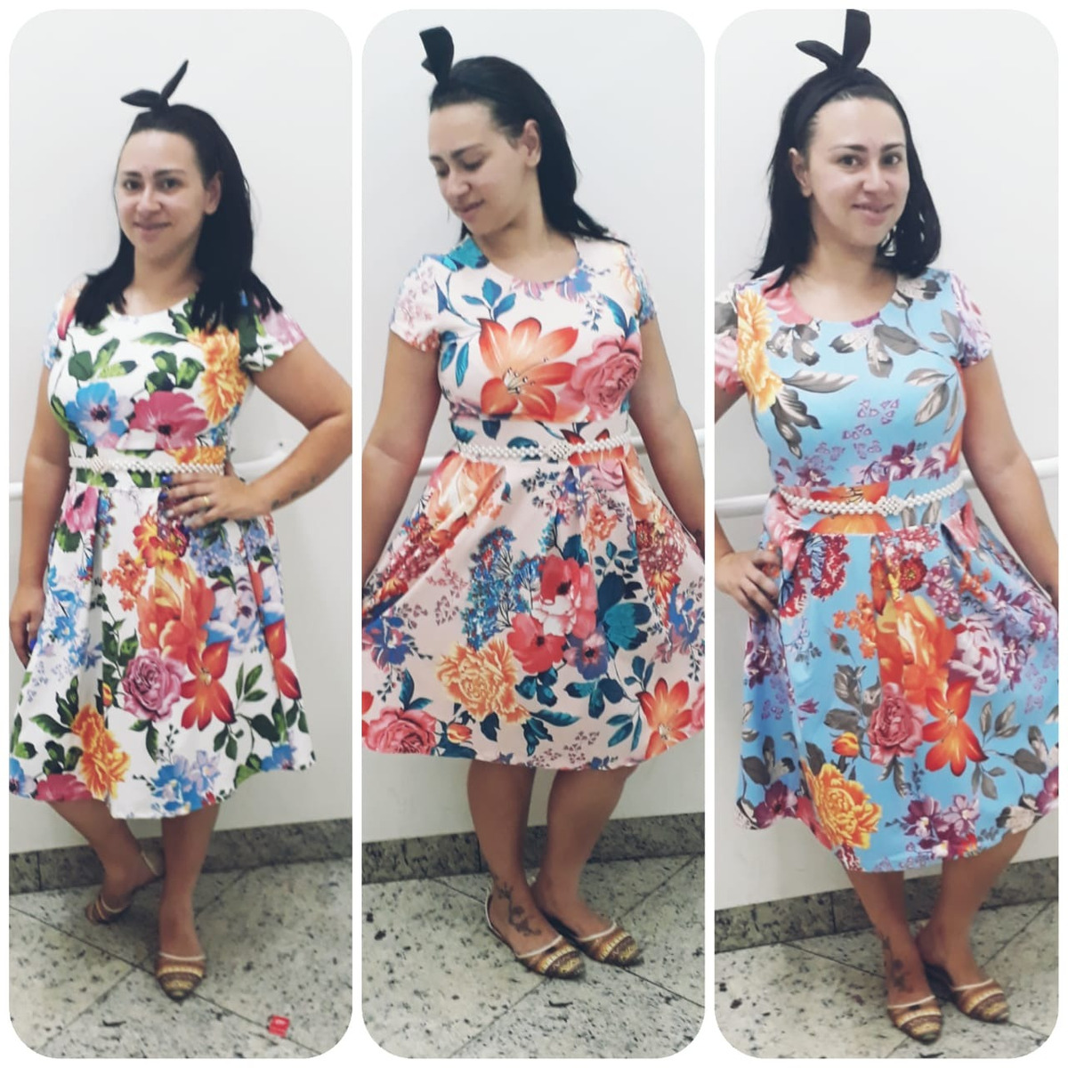 db3f67188 promocao vestido midi verao 2019 tendencia moda evangelica. Carregando zoom.