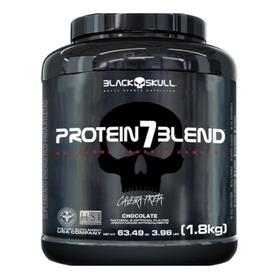 Promoção Whey Protein 7 Blend 1,8kg - Black Skull Caveira
