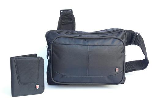 promocion 2017 combo de bolso con cartera victorinox