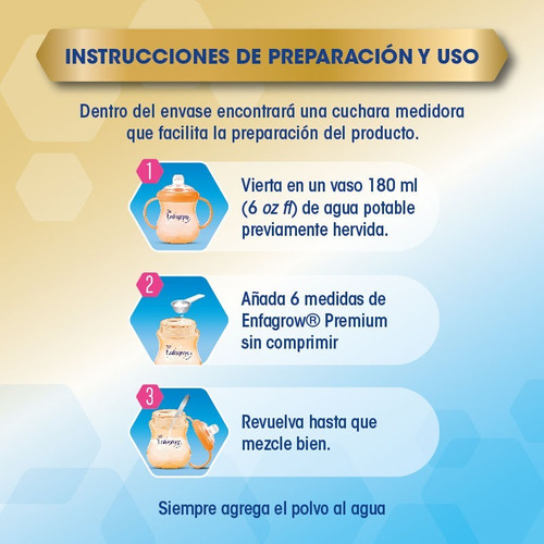 promoción 3 enfagrow® preescolar de 1.1 kg