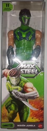 promoción 3 figuras max steel nuevas