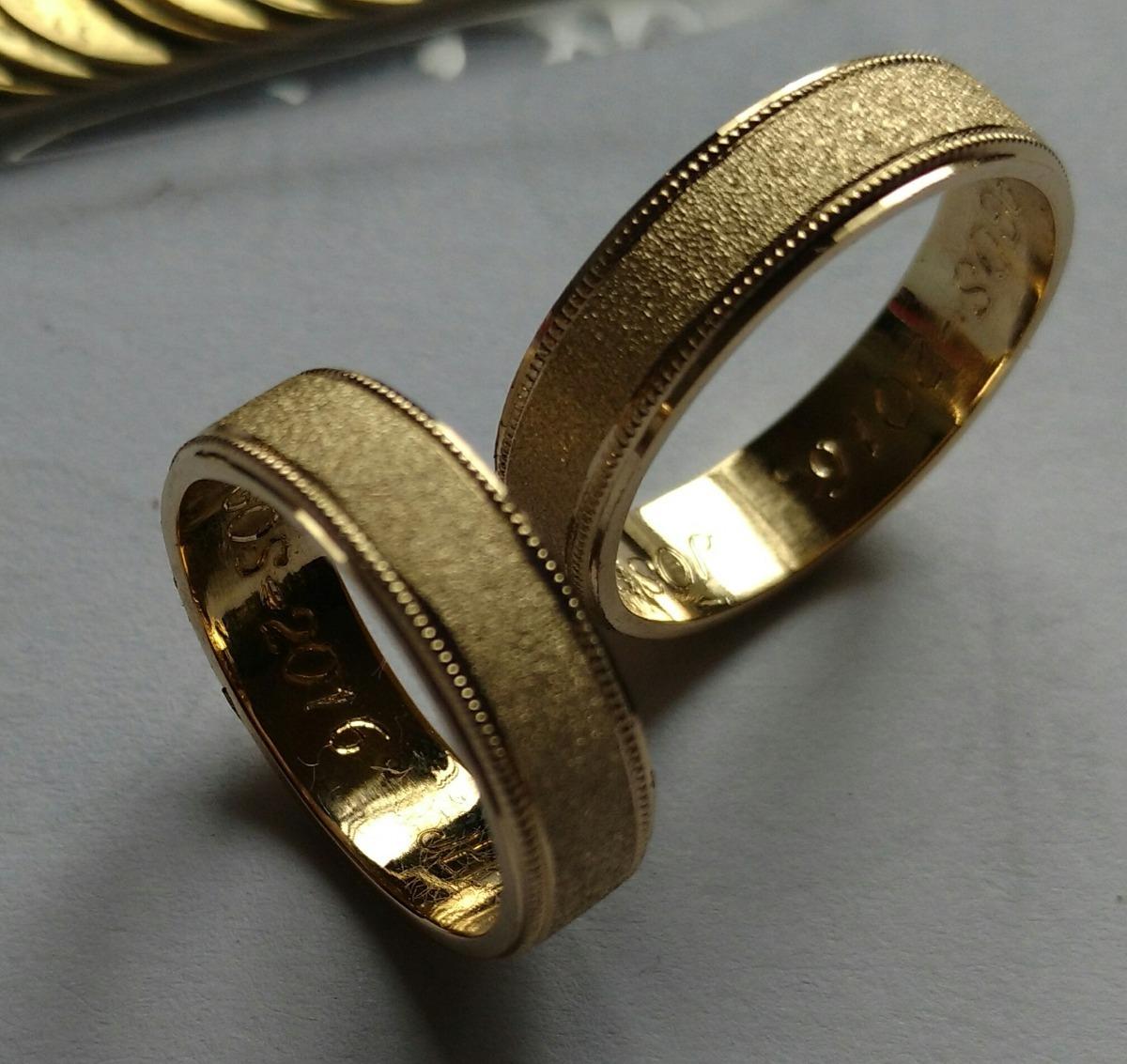 84cb44aad5db3 promoción argollas matrimonio oro 18 k precio cada argolla. Cargando zoom.