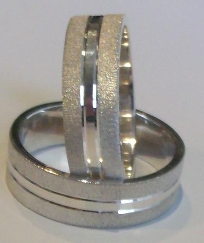 promocion argollas matrimonio plata +estuche +arras par