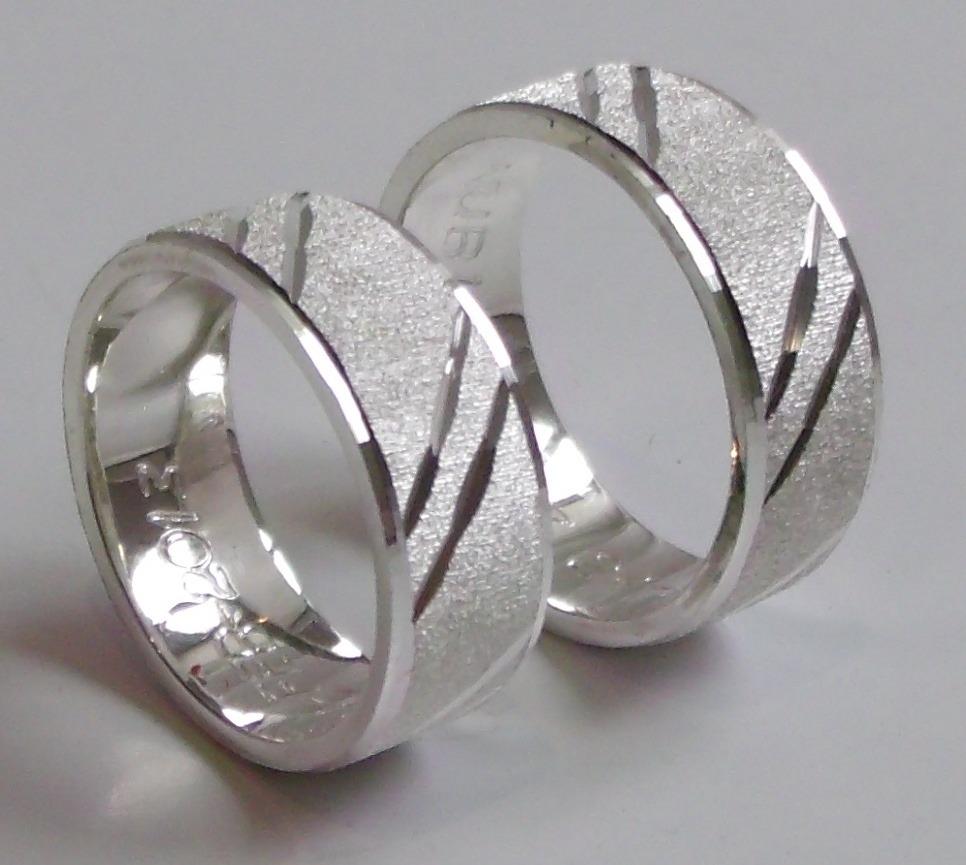 Ver anillos de matrimonio de plata