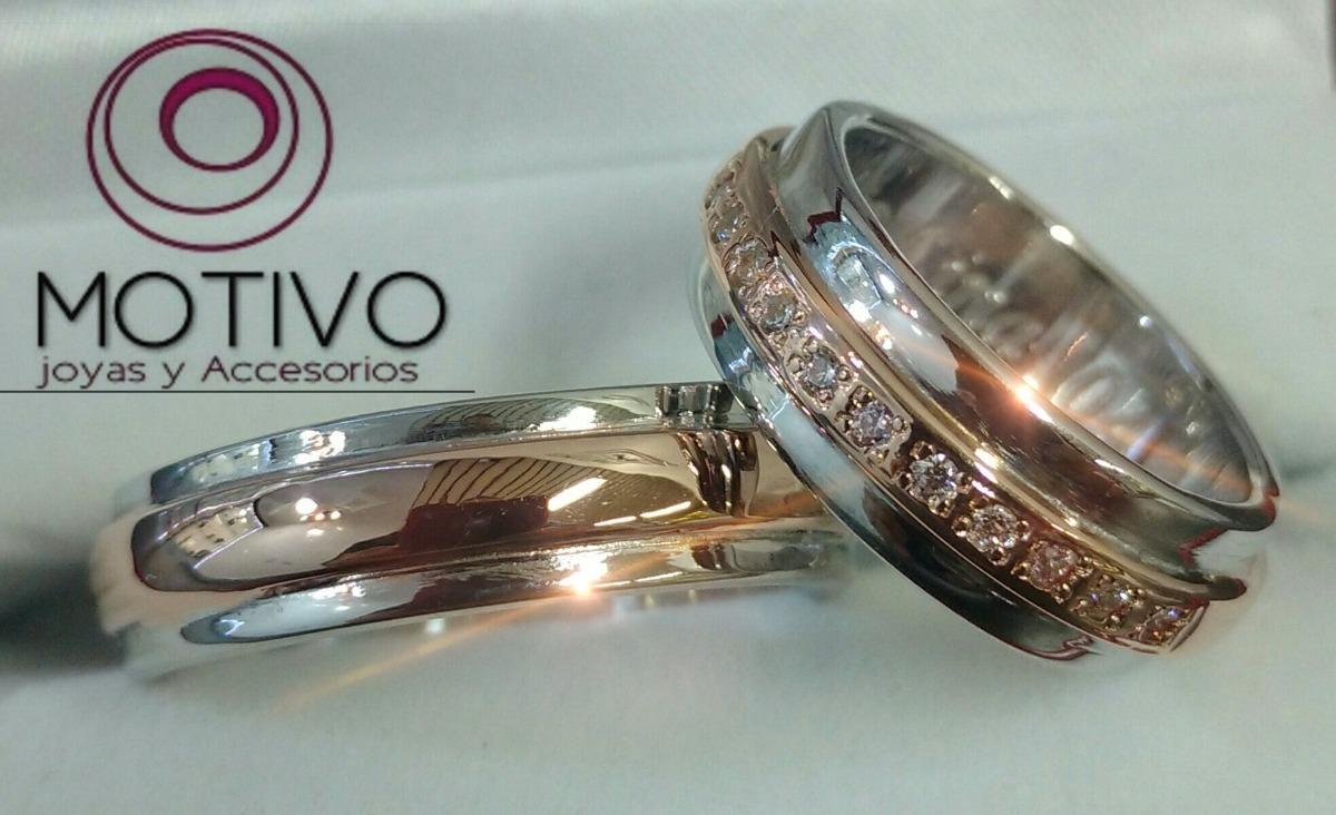 4761da4c97ef Promoción Argollas Matrimonio Plata Y Oro18k + Anillo Obsequ ...