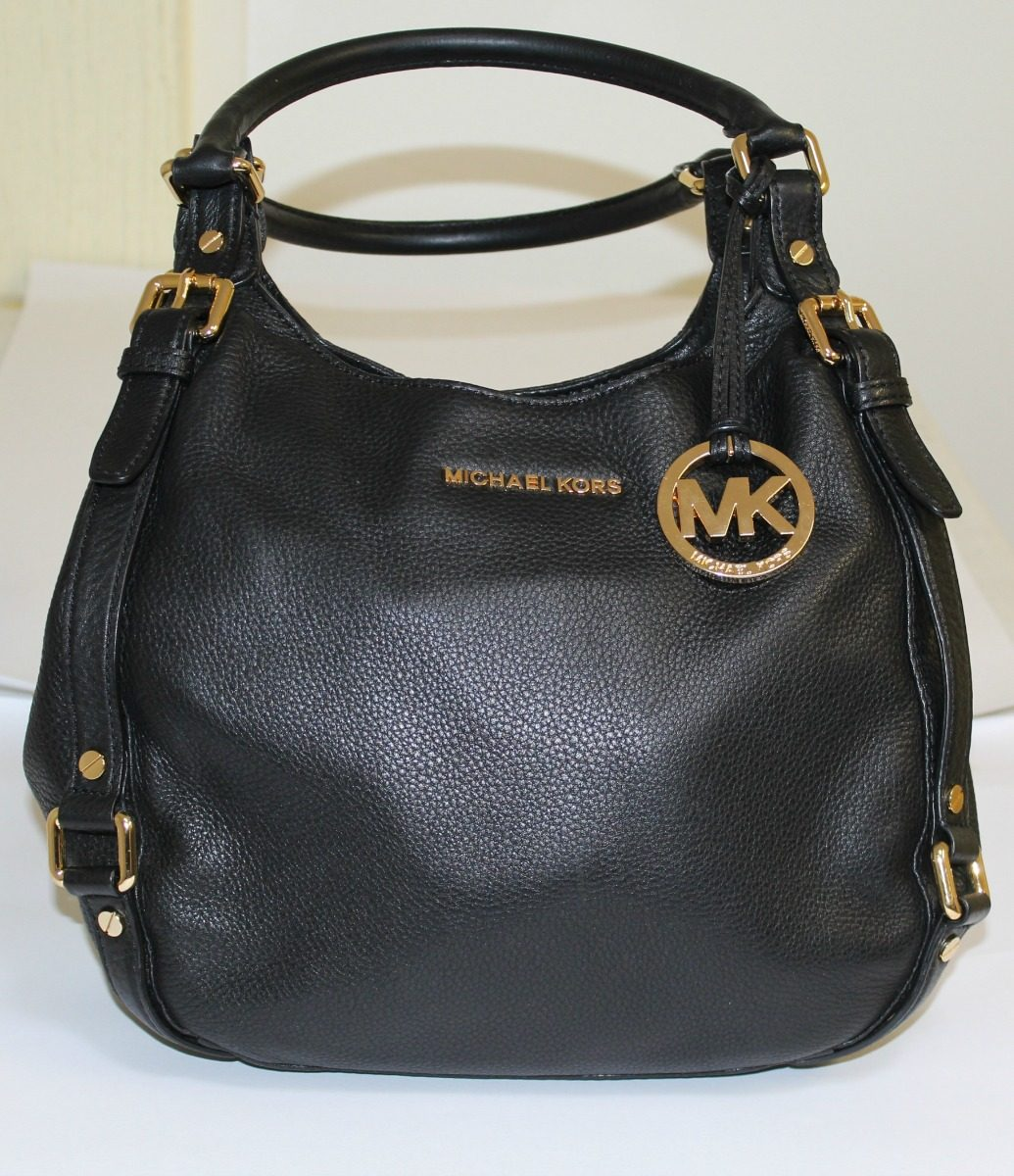 cee6e95022119 promoción  bolsa negra de piel michael kors original usada. Cargando zoom.