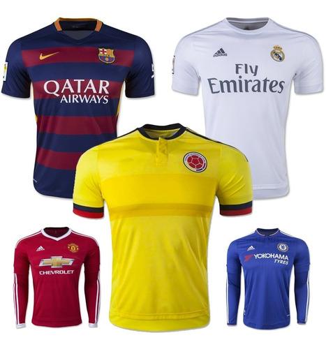 promocion camisetas barcelona real madrid colombia y mas