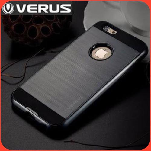 promocion: case protector verus iphone se/ 5s +mica vidrio¡¡
