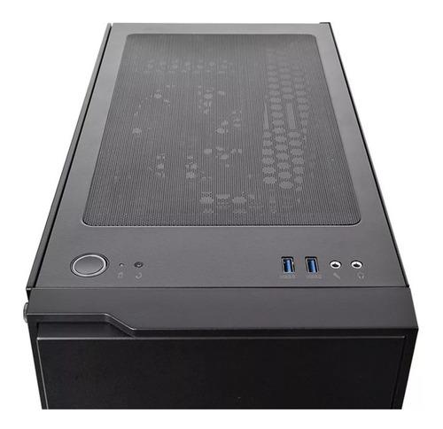 promocion chasis thermaltake h100 tg + fuente 500w 80plus