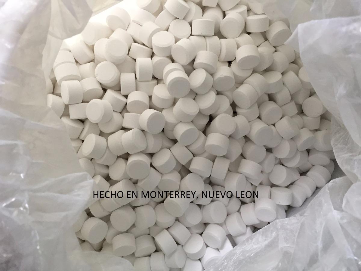 Promocion cloro tricloro pastilla 1 20 kg albercas for Pastillas de bromo para piscinas