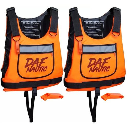 promocion combo 2 chaleco deportivo aprobacion kayak daf