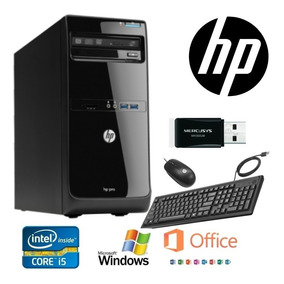 Promocion Cpu Hp Pro 3500 Core I5 3ra Gen 4ram/500gb * Wifi