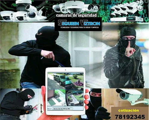 promoción de equipos de sistemas de seguridad
