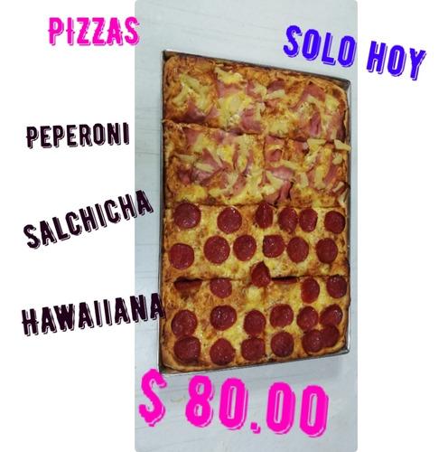 promoción de pizzas solo hoy