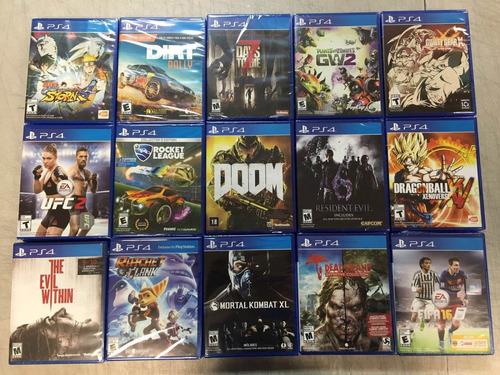promocion de video juegos nuevos