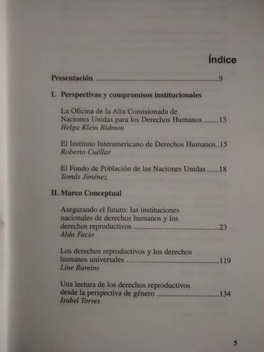 promocion defensa derechos reproductivos ingles y español