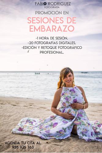 promoción en sesiones fotográficas
