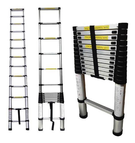 promocion escalera telescópica en aluminio 3.20mt 149kg