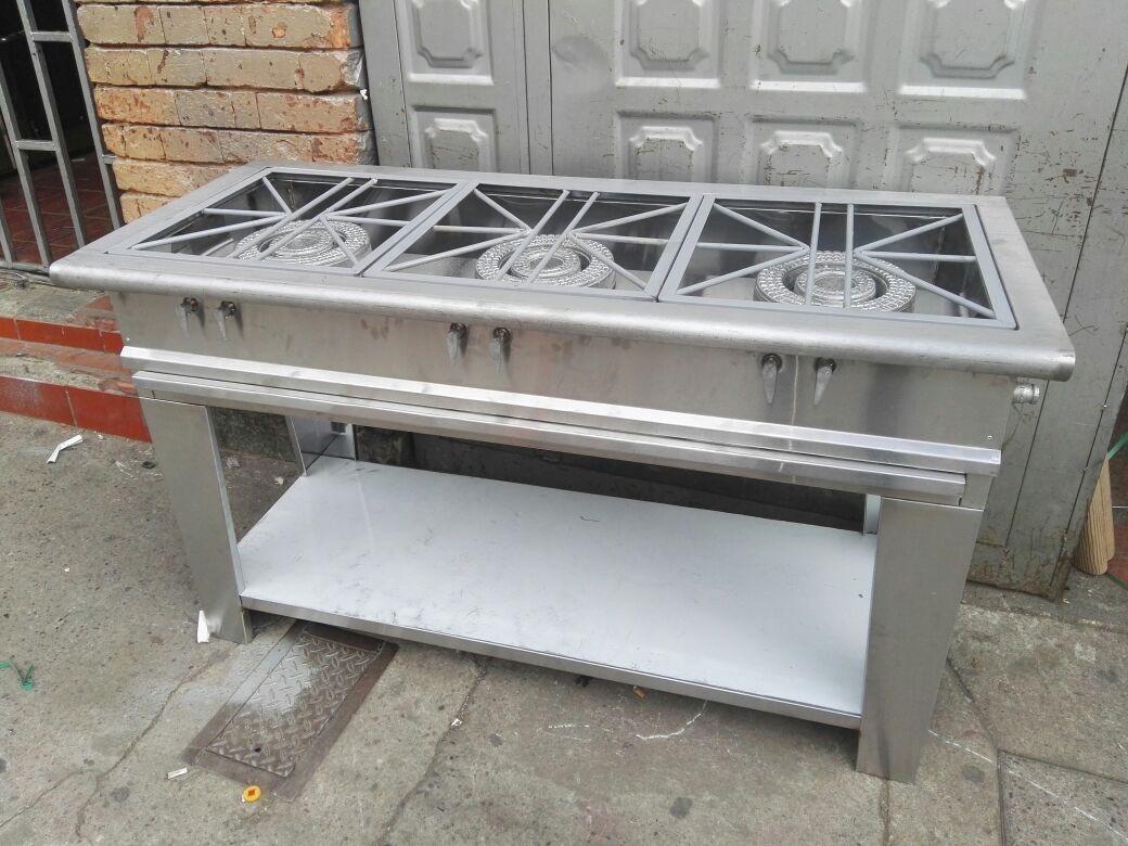 Promoci n estufas industriales en acero en for Estufas industriales