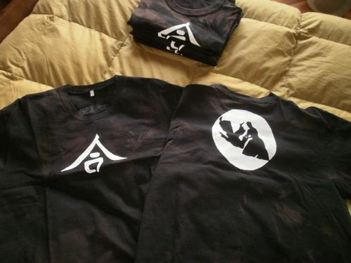 promocion exclusivas remeras aikido originales negro rustic