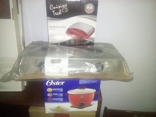promocion freidora, cocina portatil belcopr y olla arrocera
