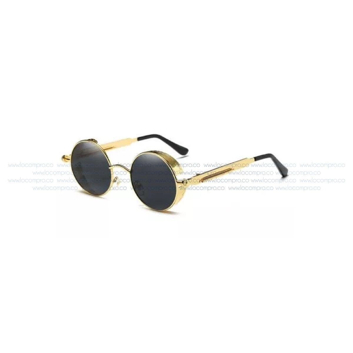 comprar super servicio brillante n color Promoción Gafas Marco Dorado Aoron Lennon Hypster