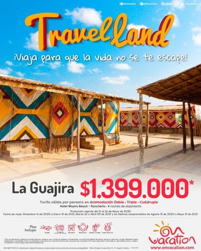 promocion guajira viajando en temporada alta y otras fechas