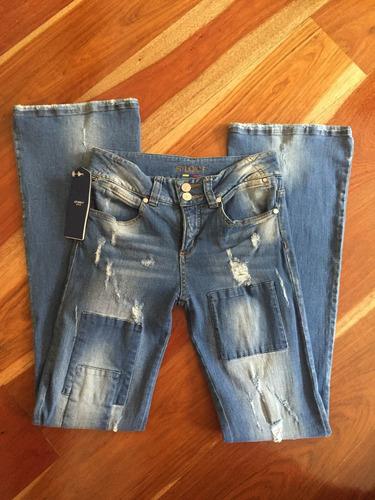 promoción jean con parches studio f