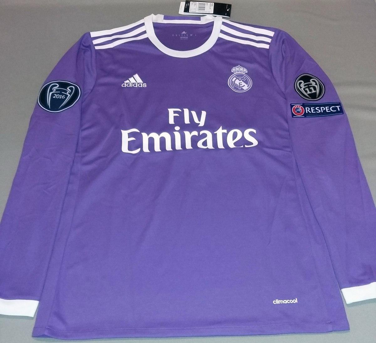 Promoción  Jersey Real Madrid 16-17 Manga Larga -   449.00 en ... ed05ed5fc9caa