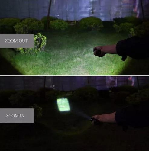 promoción! linterna militar xml t6 táctica zoom 4000lm led