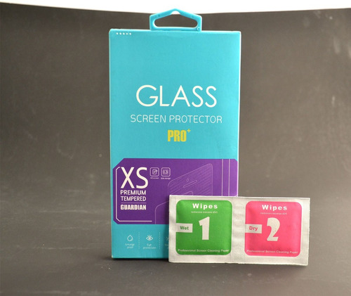 promocion mica cristal y funda de silicon para celular zte