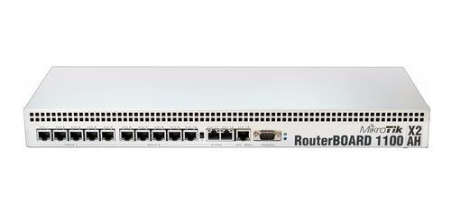 [promocion] mikrotik rb1100ahx2, ruteador de 13 puertos giga
