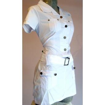 promoción mini vestido blusón popelina algodon envio gratis
