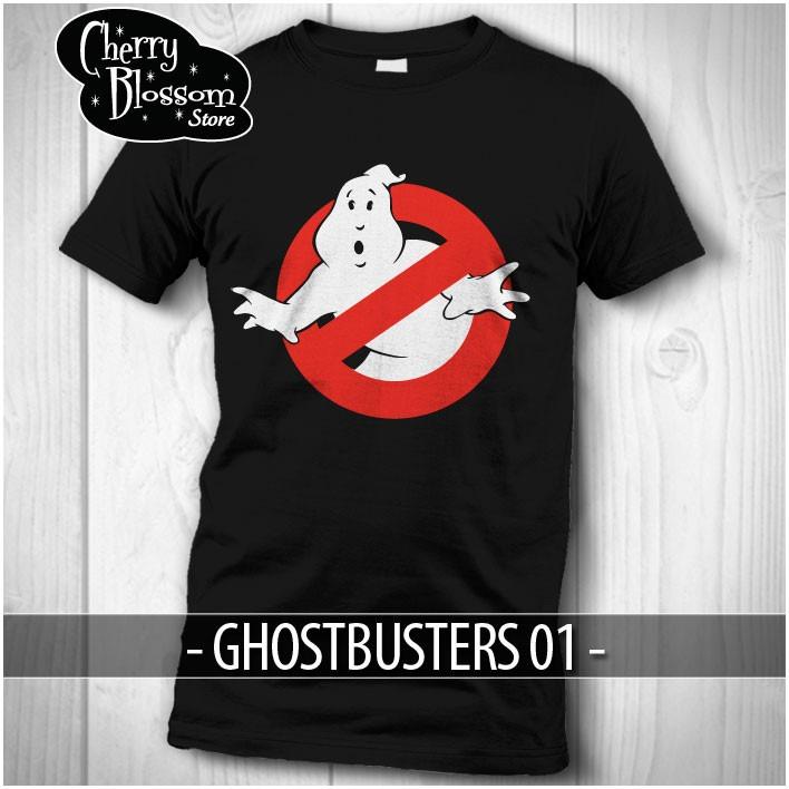 Promoción Playeras Cazafantasmas Ghostbusters Logo No Ghost ... 42f9a4b770ca7