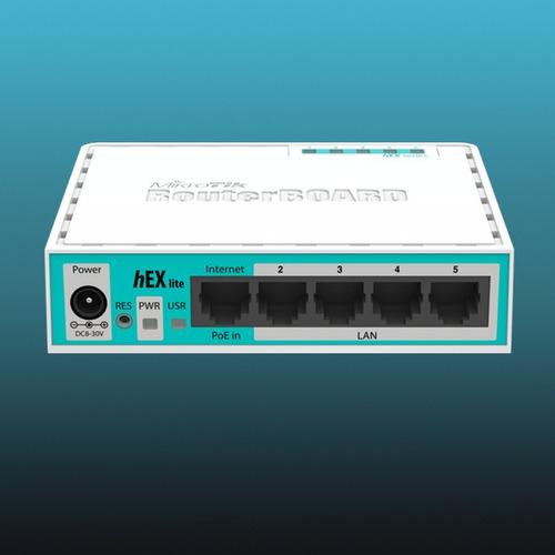 [promocion] rb750r2 (hex lite) - zona wifi - vender internet