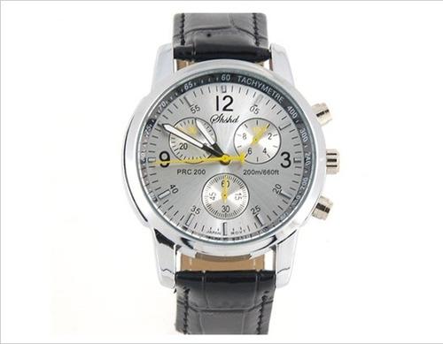 promoción reloj de hombre - formal de vestir correa cuero