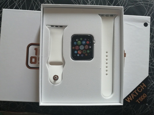 promoción reloj serie 5 smartwatch más audífonos i12 táctile