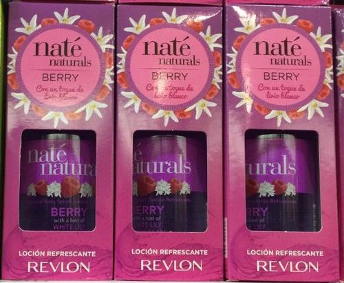 promoción revlon nate naturals berry x 240ml