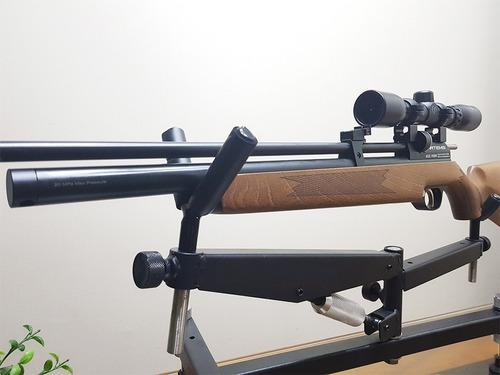 promoción rifle pcp pr900w 5,5mm con mira 4x32