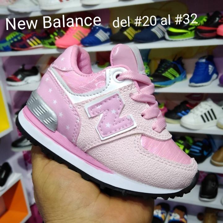 Promocion Tenis Zapatillas Niño Y Niña New Balance Tallaje