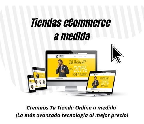 promoción tiendas ecommerce más hosting y dominio incluídos.