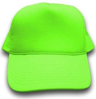 Mlm promocional gorra malla neonbordadoraserigrafiamdn jpg 330x342 Neon gorra  verde a132c2c016f